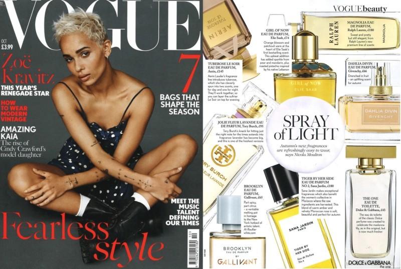 Perfumy Gallivant x Vogue UK