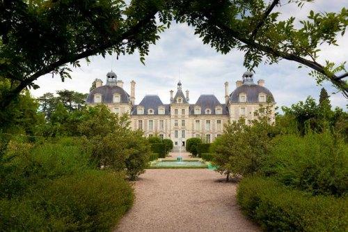 Zamek w Cheverny Vie de Chateau
