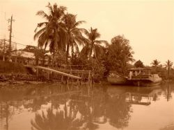 Indochine 25 Mekong sepia
